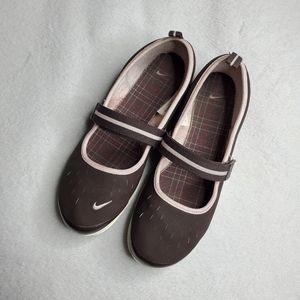 Nike Free Brown Maryjane S1 Sneakers